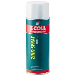 E-COLL Zink-Spray, hell